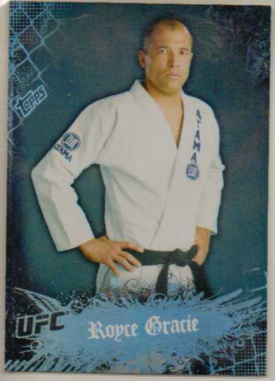 2010 Topps UFC Main Event #1 Royce Gracie