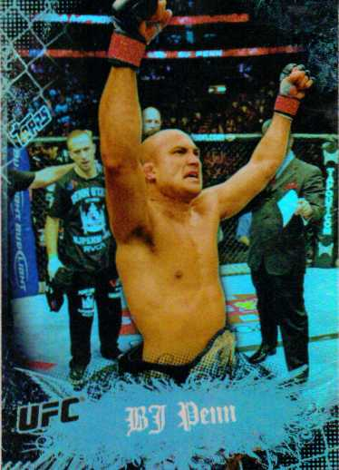 2010 Topps UFC Main Event #2 BJ Penn