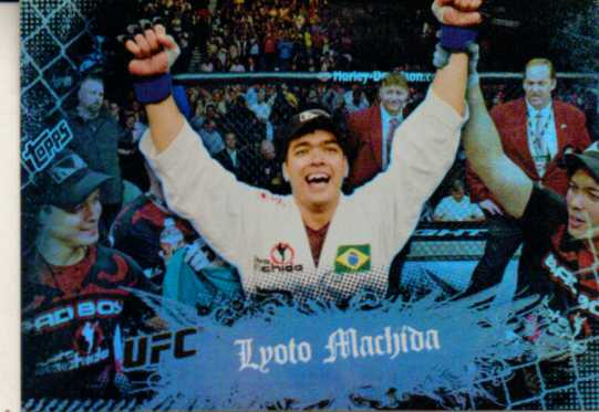 2010 Topps UFC Main Event #13 Lyoto Machida