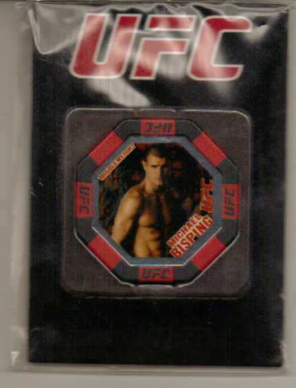 2010 Topps UFC Main Event Octagon Chips #8 Michael Bisping