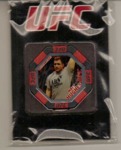 2010 Topps UFC Main Event Octagon Chips #11 Matt Hughes