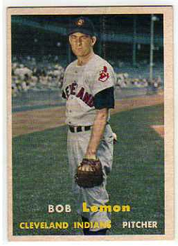 1957 Topps #120 Bob Lemon