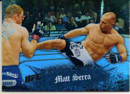 2010 Topps UFC Main Event Black #9 Matt Serra