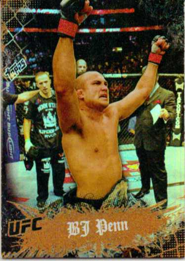 2010 Topps UFC Main Event Bronze #2 BJ Penn