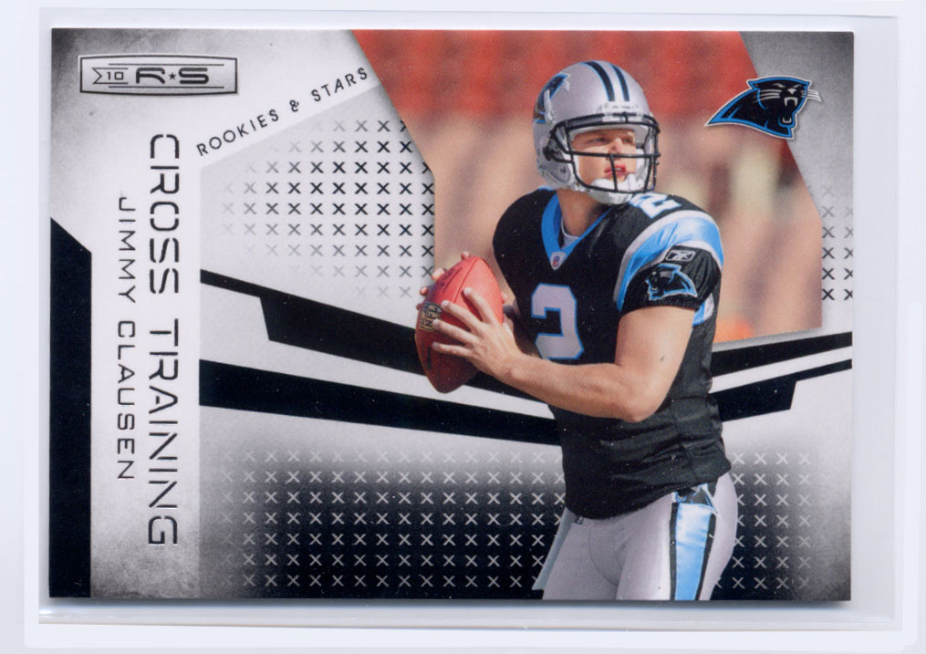 2010 Rookies and Stars Crosstraining Black #3 Jimmy Clausen