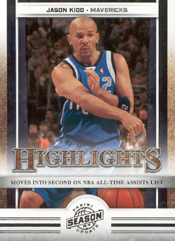 2009-10 Panini Season Update #8 Jason Kidd HL