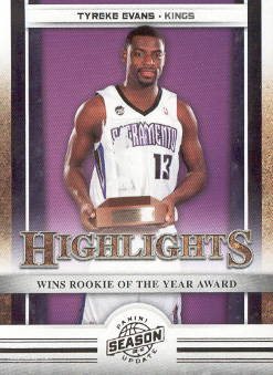 2009-10 Panini Season Update #17 Tyreke Evans HL