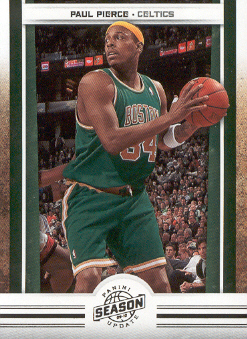 2009-10 Panini Season Update #22 Paul Pierce