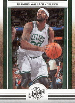 2009-10 Panini Season Update #24 Rasheed Wallace
