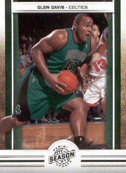 2009-10 Panini Season Update #25 Glen Davis