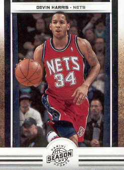 2009-10 Panini Season Update #28 Devin Harris