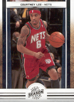 2009-10 Panini Season Update #29 Courtney Lee