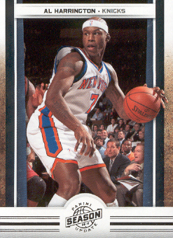 2009-10 Panini Season Update #31 Al Harrington