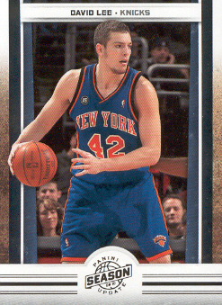 2009-10 Panini Season Update #32 David Lee