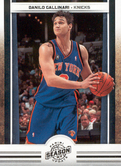 2009-10 Panini Season Update #34 Danilo Gallinari
