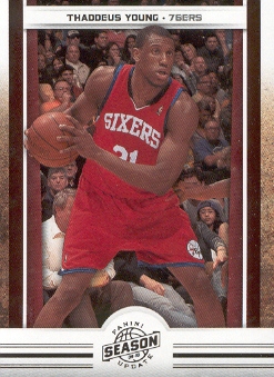 2009-10 Panini Season Update #41 Thaddeus Young