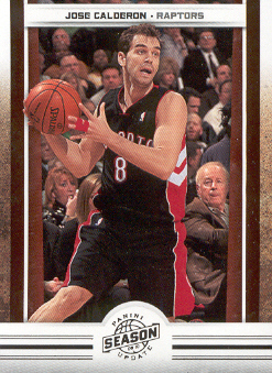 2009-10 Panini Season Update #46 Jose Calderon
