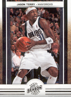 2009-10 Panini Season Update #50 Jason Terry