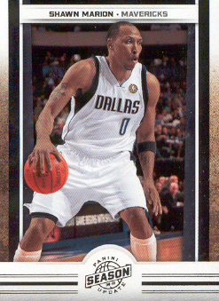 2009-10 Panini Season Update #51 Shawn Marion