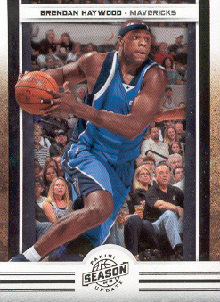 2009-10 Panini Season Update #52 Brendan Haywood