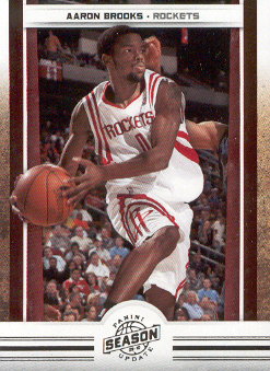 2009-10 Panini Season Update #53 Aaron Brooks