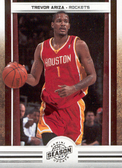 2009-10 Panini Season Update #54 Trevor Ariza