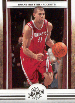 2009-10 Panini Season Update #56 Shane Battier