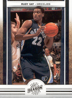 2009-10 Panini Season Update #59 Rudy Gay