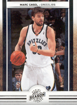2009-10 Panini Season Update #61 Marc Gasol