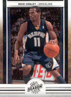 2009-10 Panini Season Update #62 Mike Conley