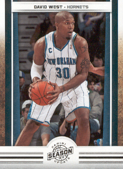 2009-10 Panini Season Update #64 David West
