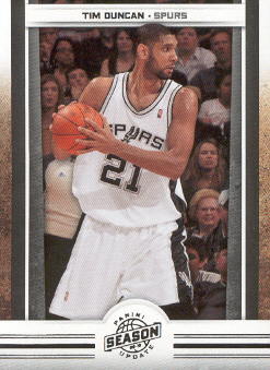 2009-10 Panini Season Update #69 Tim Duncan