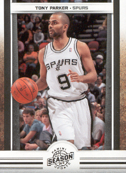 2009-10 Panini Season Update #72 Tony Parker
