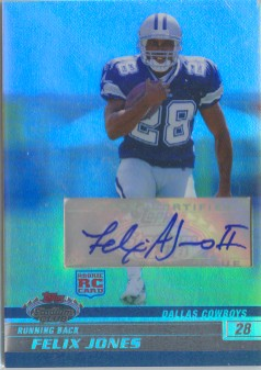 2008 Stadium Club Rookie Autographs Platinum #114 Felix Jones