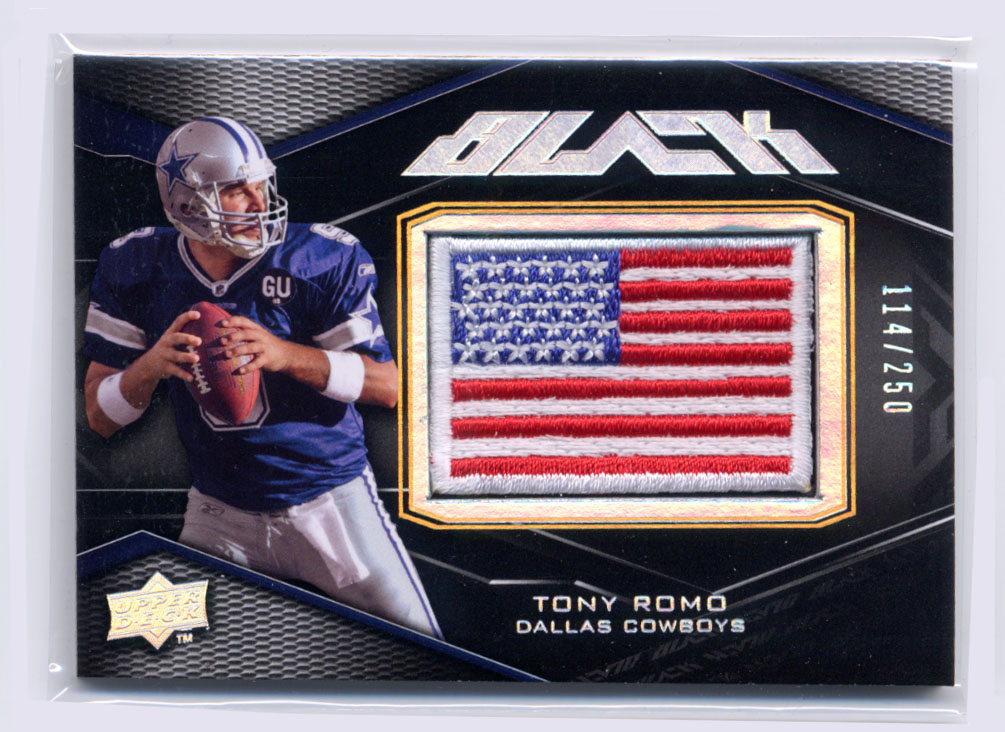 2009 UD Black #30 Tony Romo