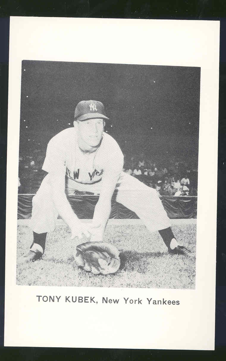 Post Card Black & White Vintage Photo Yankees 5 1/2