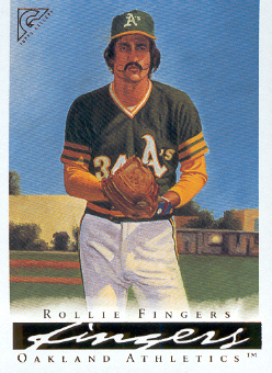 2003 Topps Gallery HOF #70 Rollie Fingers Day