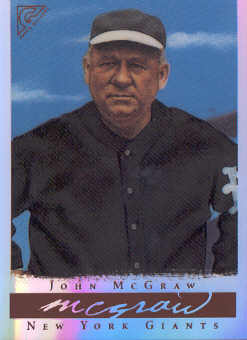 2003 Topps Gallery HOF Artist's Proofs #8 John McGraw MG No Logo