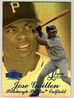 1998 Flair Showcase Legacy Collection Row 3 #56 Jose Guillen