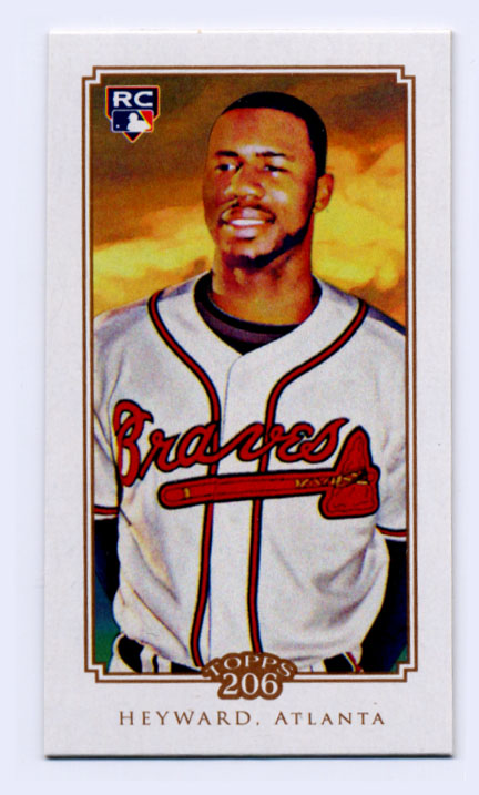 2010 Topps 206 Mini Cycle #60 Jason Heyward