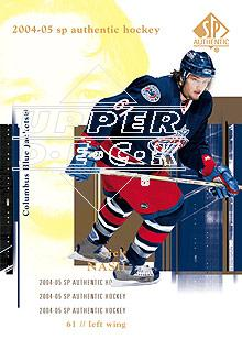 2004-05 SP Authentic #26 Rick Nash