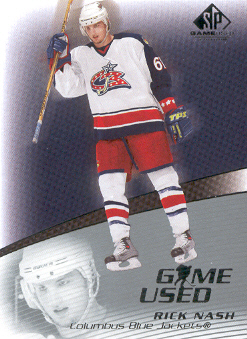 2003-04 SP Game Used #14 Rick Nash