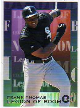 1996 Emotion-XL Legion of Boom #10 Frank Thomas