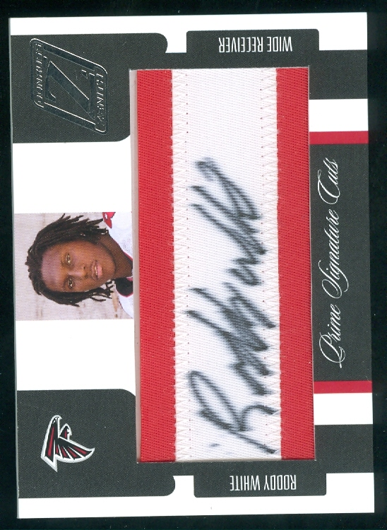 2005 Zenith #172 Roddy White AU RC