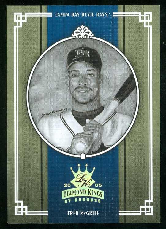 2005 Diamond Kings Gold B/W #223 Fred McGriff
