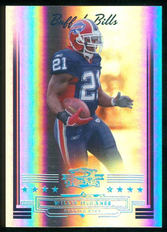 2006 Donruss Threads Platinum Holofoil #137 Willis McGahee
