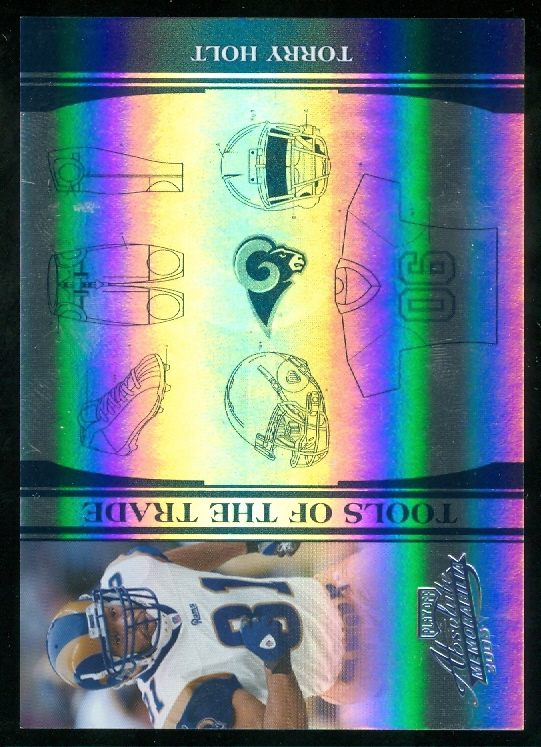 2006 Absolute Memorabilia Tools of the Trade Blue Spectrum  #139 Torry Holt
