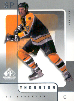 2000-01 SP Game Used #5 Joe Thornton
