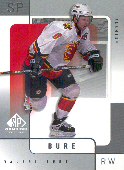 2000-01 SP Game Used #8 Valeri Bure