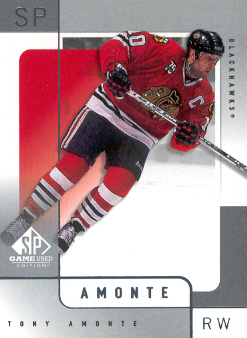 2000-01 SP Game Used #11 Tony Amonte